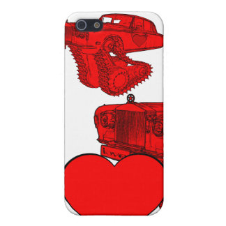 Classic Red Rolls Royce Valentine's Fantasy iPhone 5 Cover