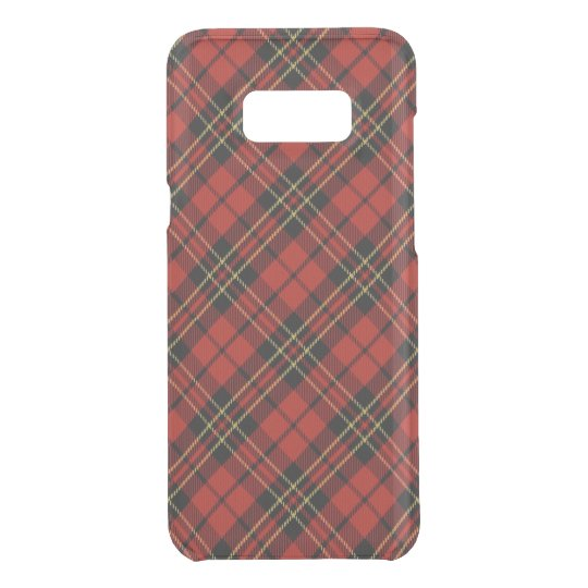 Classic Red Tartan Samsung Galaxy S8+ Clearly Def.