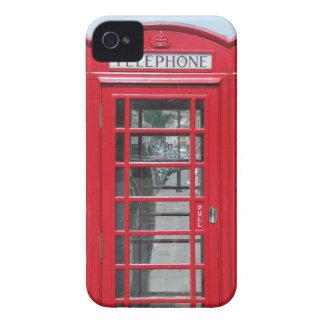 Classic red telephone box photo Case-Mate iPhone 4 case