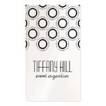 Classic Refinement Business Card, Charcoal