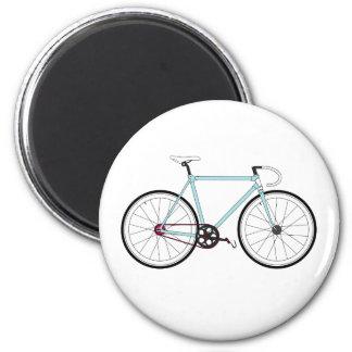 Classic Retro Bicycle 6 Cm Round Magnet