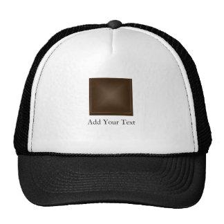 Classic Rich Chocolate Brown Trucker Hat