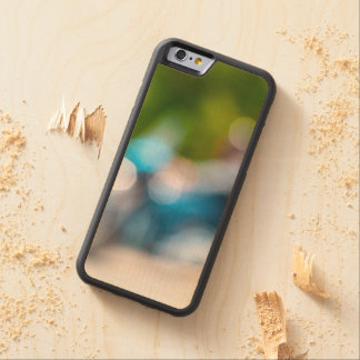 classic rider carved maple iPhone 6 bumper case