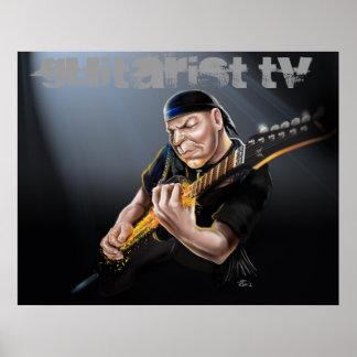 Classic Rock Guitarist TV Poster
