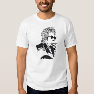 Classic Rock Harmonica and Guitar Dylan T-shirt