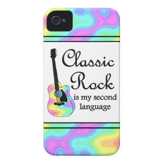 Classic Rock Is My Second Language Case-Mate iPhone 4 Cases