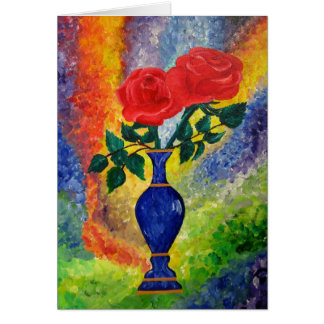 Classic Roses Greeting Card