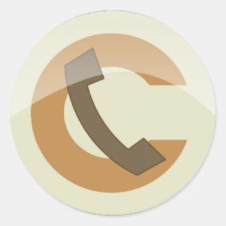 Classic Round Sticker, Glossy, Small, 1½ inch (she Classic Round Sticker