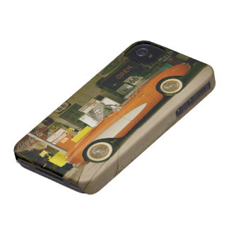 Classic RT 66 Gas Station iPhone 4 Covers