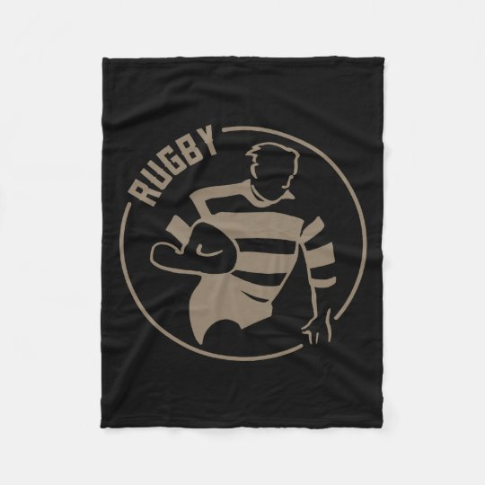 Classic Rugby Fleece Blanket