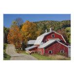 Classic rural barn and road, White Mountain Photo Art