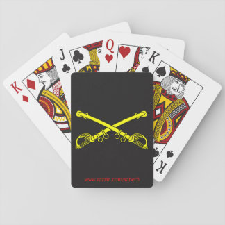 Classic Sabers Playing Cards