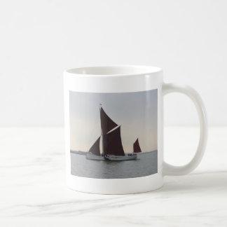 Classic Sailing Barge Basic White Mug