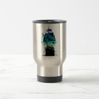 Classic Sailing Ship Travel Mug