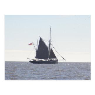 Classic Sailing Smack Postcard