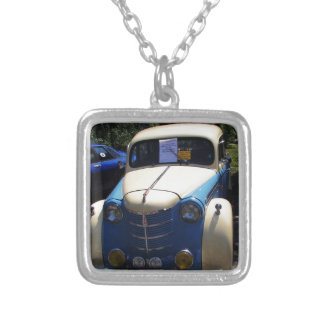 Classic Saloon Car Silver Plated Necklace
