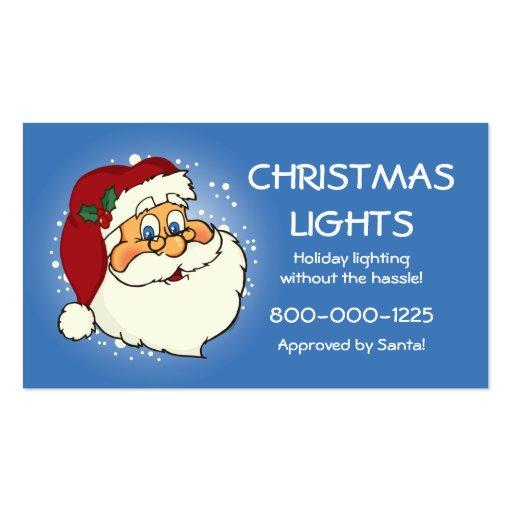 Classic Santa Business Card