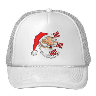 Classic Santa Claus Christmas Trucker Hat