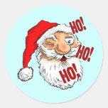 Classic Santa Claus Christmas Sticker