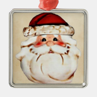 Classic Santa Claus Face Christmas Ornament