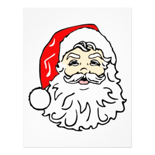 Classic Santa Claus Custom Flyer