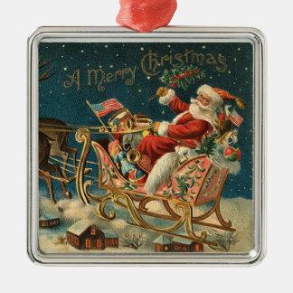 Classic Santa Claus Ornament