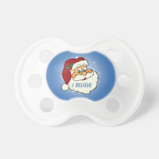 Classic Santa Personalized Baby Pacifier