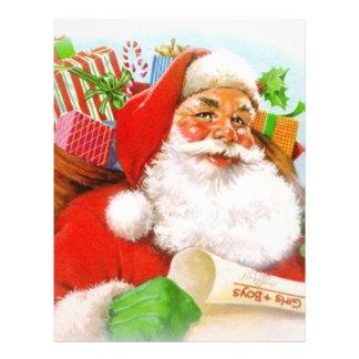 Classic Santa Picture Custom Flyer