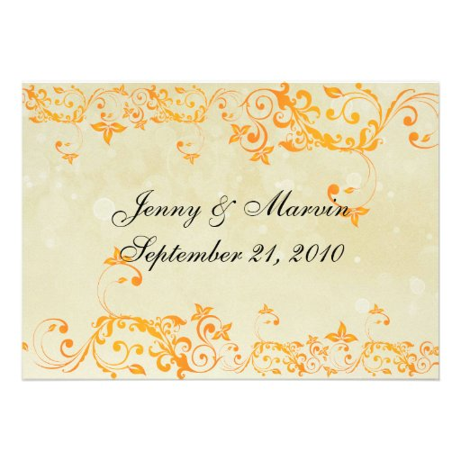 Classic Save the Date Sunny Yellow Announcements