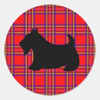 Classic Scotty Dog Scottish Terrier Sticker