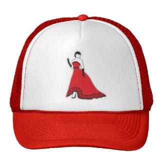 Classic Senorita in Red Cap