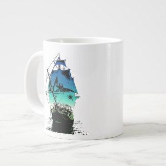 Classic Ship Giant Coffee Mug