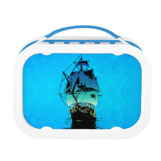 Classic Ship Lunch Box
