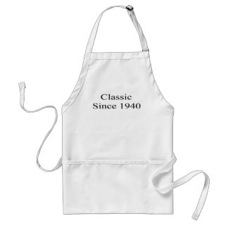 Classic Since 1940 Adult Apron