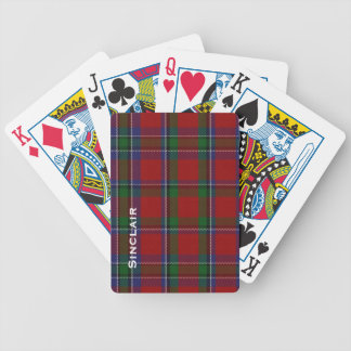 Classic Sinclair Family Tartan Plaid Playing Cards