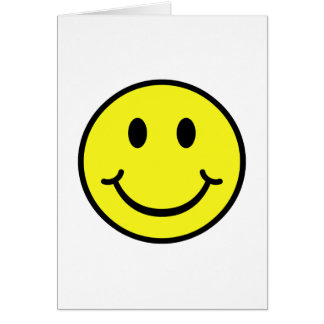 Classic Smiley Greeting Card