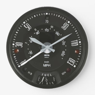 Classic Smiths Speedo Clock