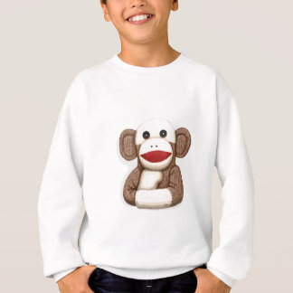 Classic Sock Monkey Sweatshirt