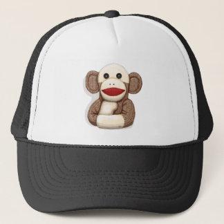 Classic Sock Monkey Trucker Hat