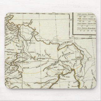 Classic South Asian Map Mouse Mat