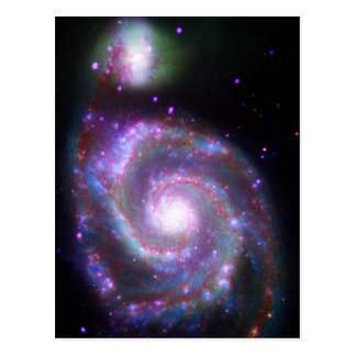 Classic Spiral Galaxy Postcard