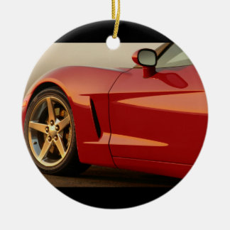 Classic Split Window Cars Christmas Ornament