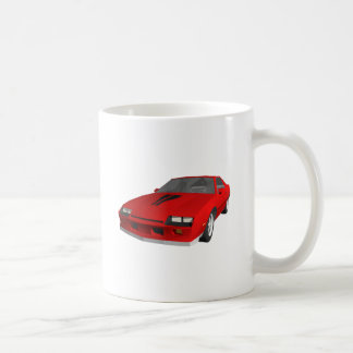 Classic Sports Car: 3D Model: Coffee Mug