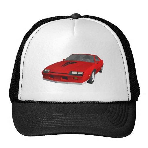 Classic Sports Car: 3D Model: Hat