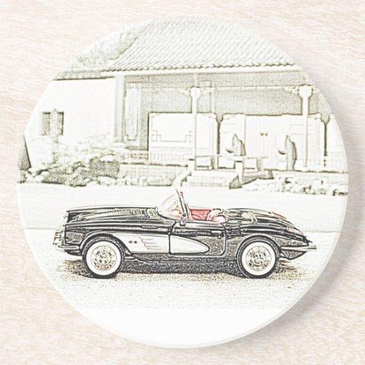 Classic Sports Car Coasters