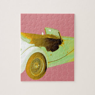 Classic Sports Car Jigsaw Puzzle