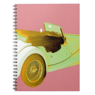 Classic Sports Car Notebook