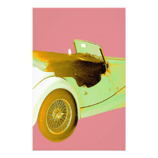 Classic Sports Car Stationery Design