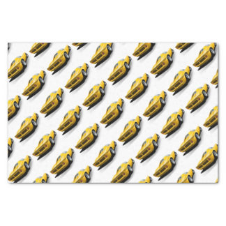Classic sports car tissue paper