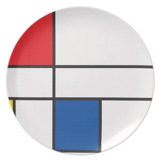 Classic Squares Plate